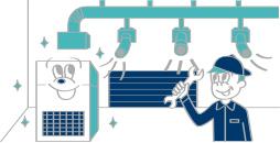 冷暖房空調設備工事