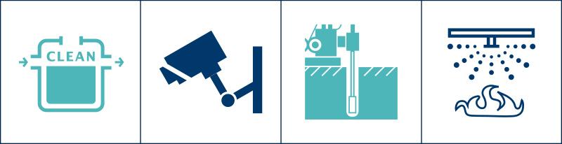 防犯設備工事(ISO対象外)/さく井工事/衛生設備工事/消防設備工事